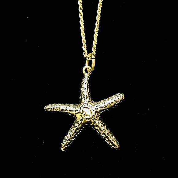 Jewelry NEW Long Starfish Gold Nautical Necklace Poshmark